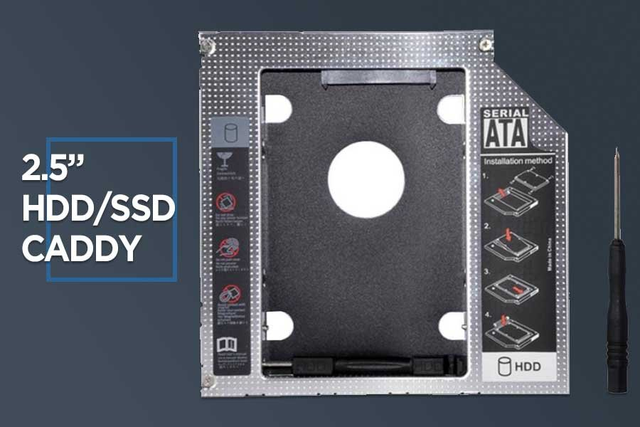SATA to SATA HDD, SSD Caddy for Laptop