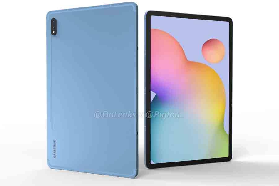 Samsung Galaxy Tab S7+ design