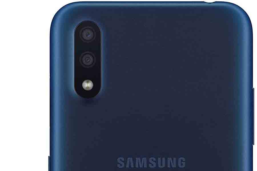 Samsung Galaxy m01 camera setup