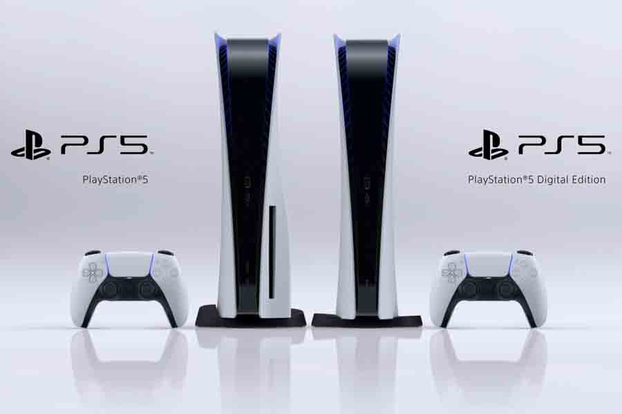 Sony Playstation 5 Standard and Digital model edition
