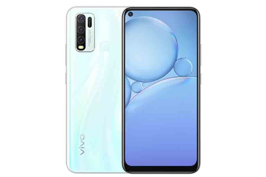 Vivo Y30 front and back design