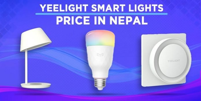 Yeelight smart light price in Nepal availability launch