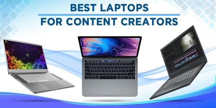 best laptops for content creators