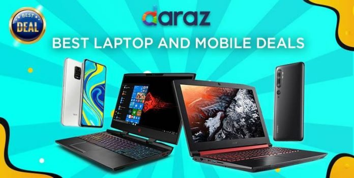 daraz best deals laptop smartphones