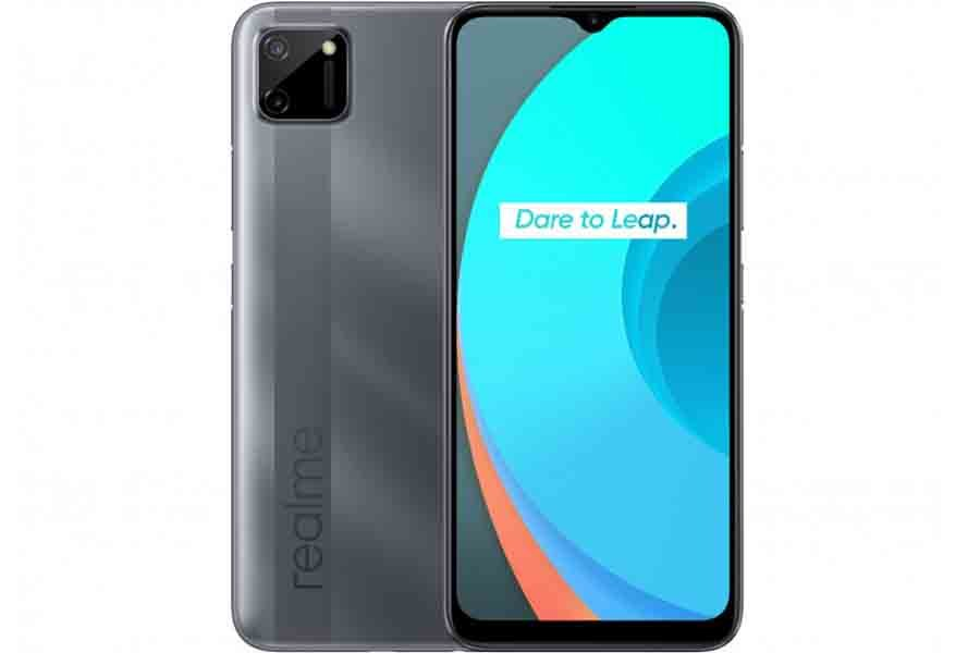 realme c11 display back