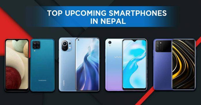top upcoming smartphones in Nepal February 2021