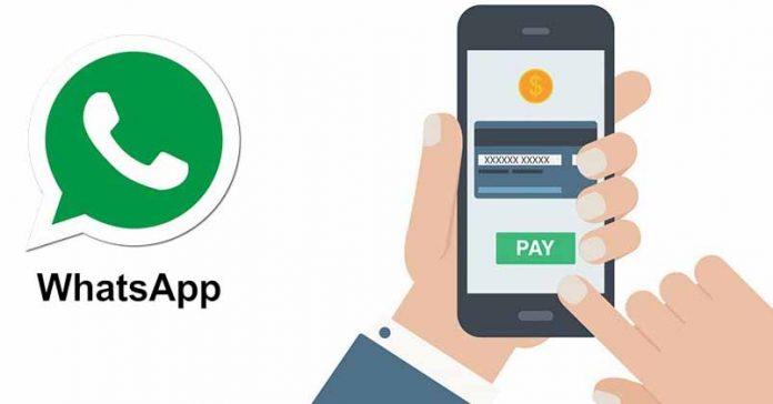 whatsapp payment facebook pay