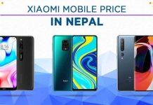 xiaomi mobile price list nepal 2020 latest