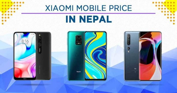 xiaomi mobile price list nepal 2020 latest