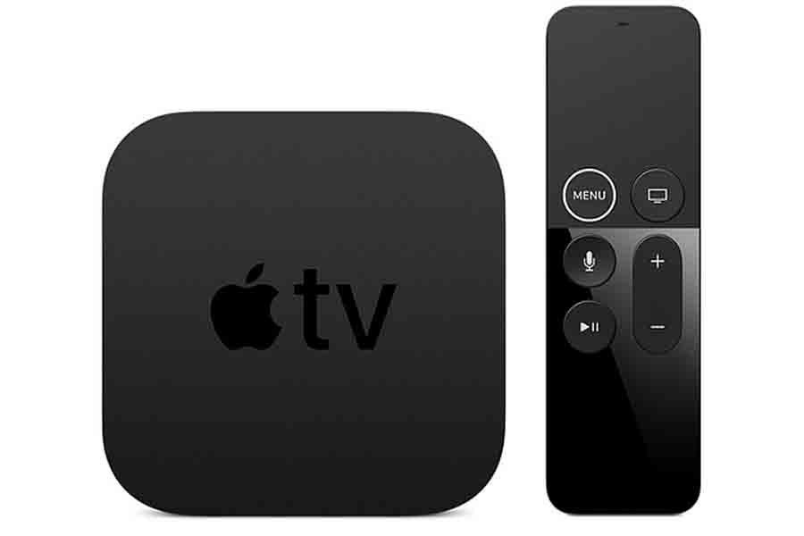 Apple TV 4K design with Siri Remote