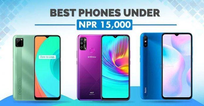 Best Phones Under NPR 15000 in Nepal Rs 15K