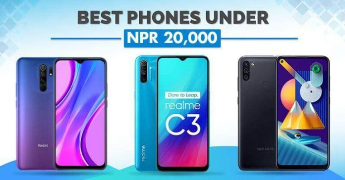 Best Phones Under NPR 20000 in Nepal