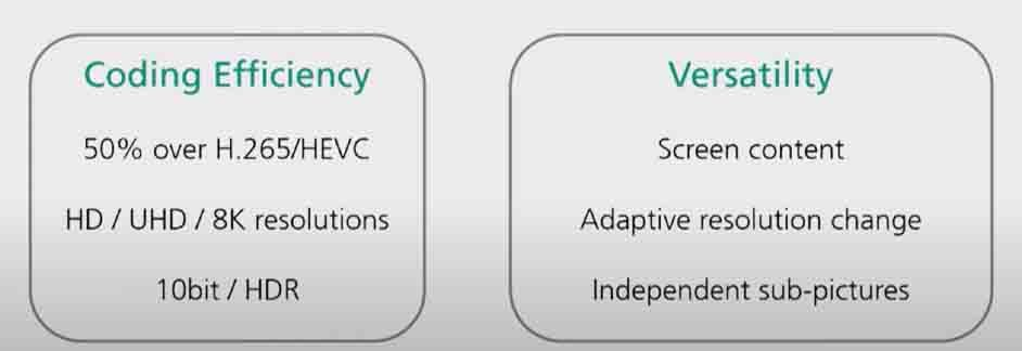 Features of VCC