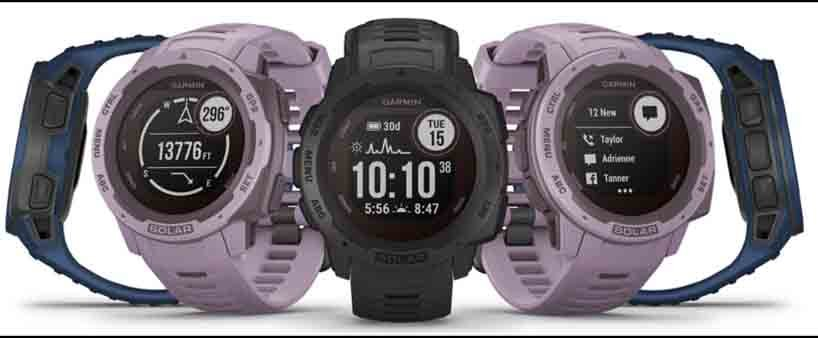 Garmin Instinct Solar Edition Smartwatches