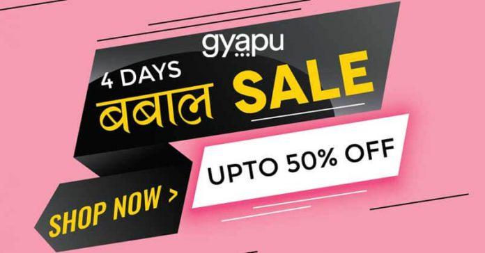 Gyapu 4 Days Babbal Sale Kicked Off