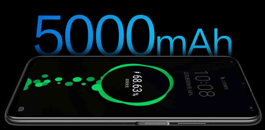 Honor X10 Max 5G battery