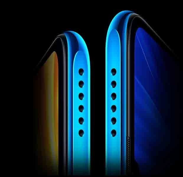 Honor X10 Max 5G dual speakers