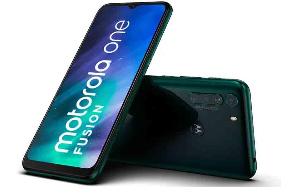 Motorola One Fusion design 2