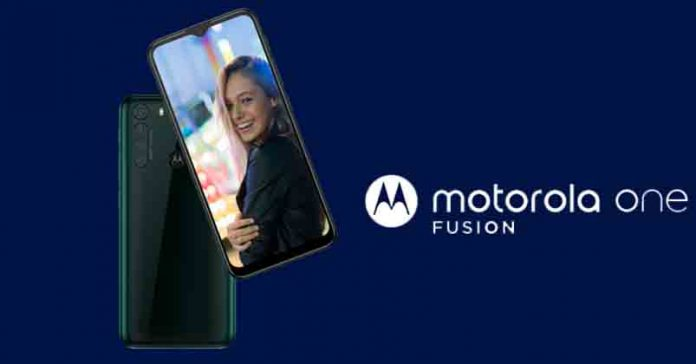 Motorola One Fusion launched specs features price Nepal availability