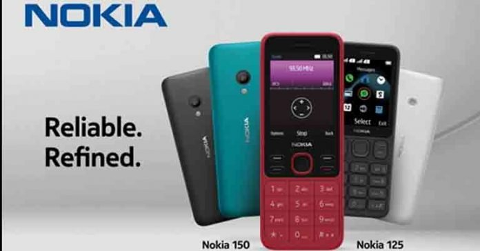 Nokia 150 (2020) and 125 price nepal specs feature phone availability launch
