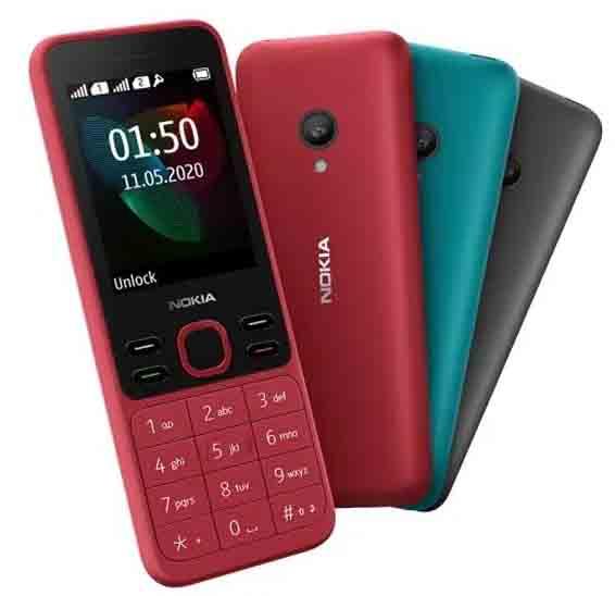 Nokia 150 (2020) feature phone specs