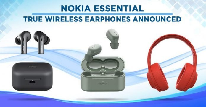 Nokia Essential True Wireless Earphones announced specs features price Nepal availability