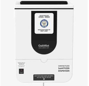 OakMist Touchless Sanitizer dispenser