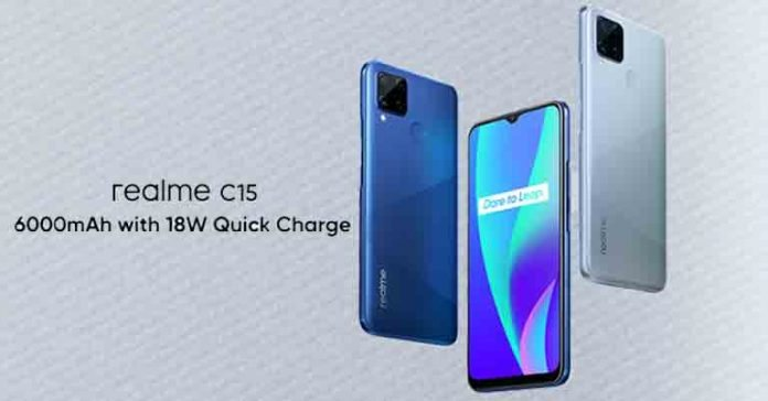 Realme C15 launch date announced specs price Nepal availability
