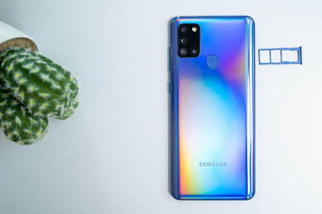 Samsung Galaxy A21s - SIM Tray