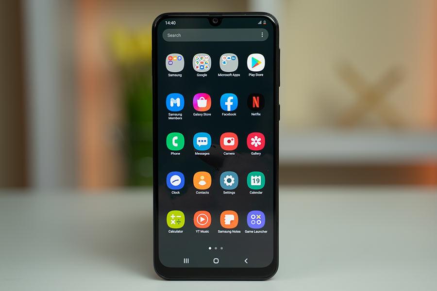 Samsung Galaxy M31 OneUI