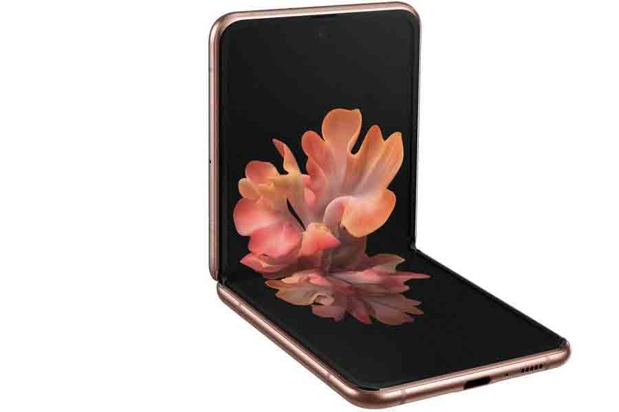 Samsung Galaxy Z Flip 5G free standing