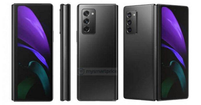 Samsung Galaxy Z Fold 2 High-Res Renders