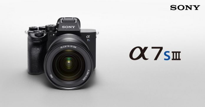 Sony a7S III launched