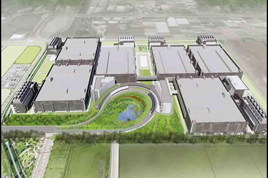 TSMC 5nm production facility chips