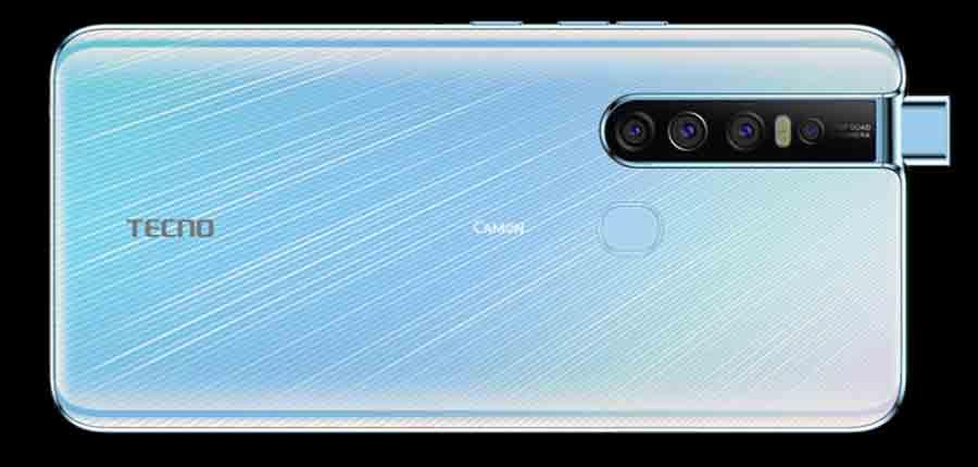 Tecno Camon 15 Pro Camera setup