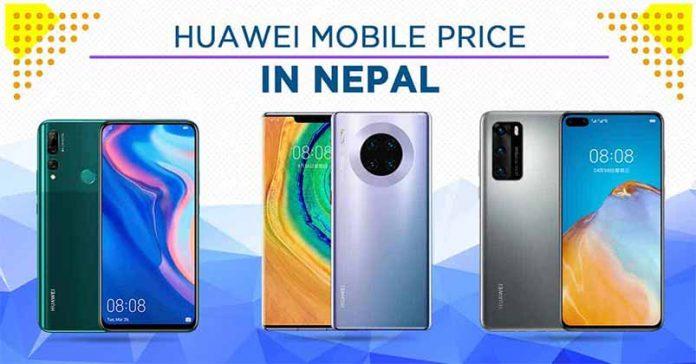 huawei mobile price nepal 2020