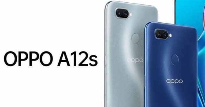 oppo A12s design