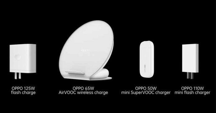 oppo charging technologies 125W