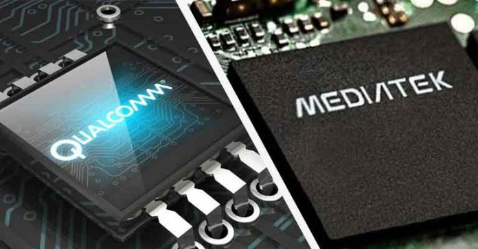 qualcomm mediatek chipsets