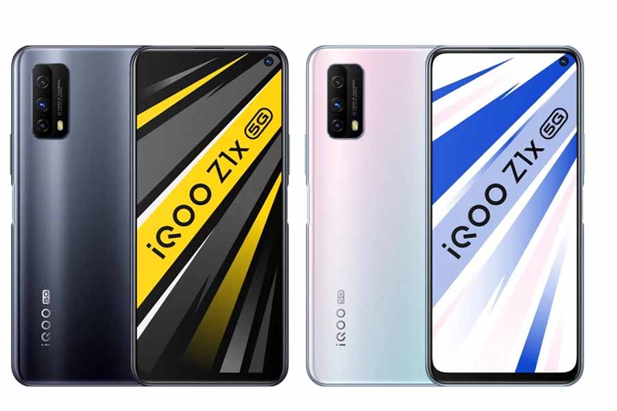 vivo iqoo z1x 5G display design rear-camera