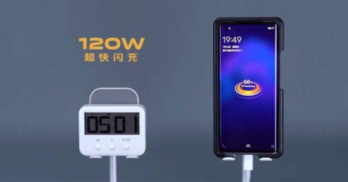 vivo iqoo 120W super flashcharge