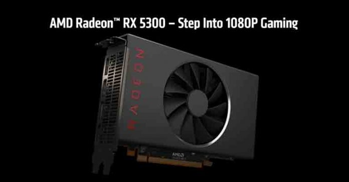 AMD Radeon RX 5300 unveiled specs features price nepal availability launch