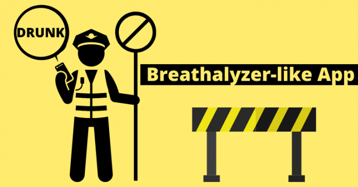 English researcher announce Breathalyzer-like app