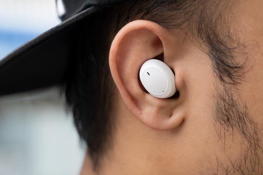 Enco W11 - Inside ear
