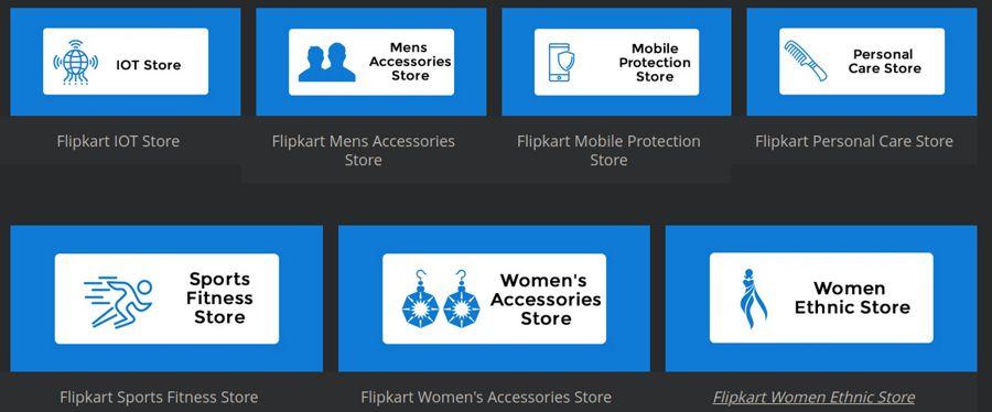 Flipkart Store - Categories [2]