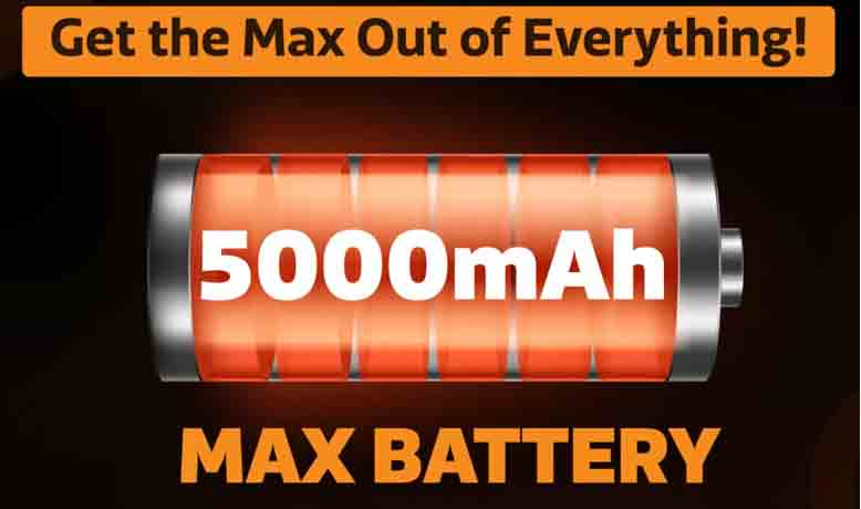 Gionee Max Battery