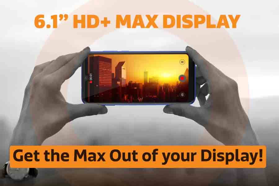 Gionee Max Display
