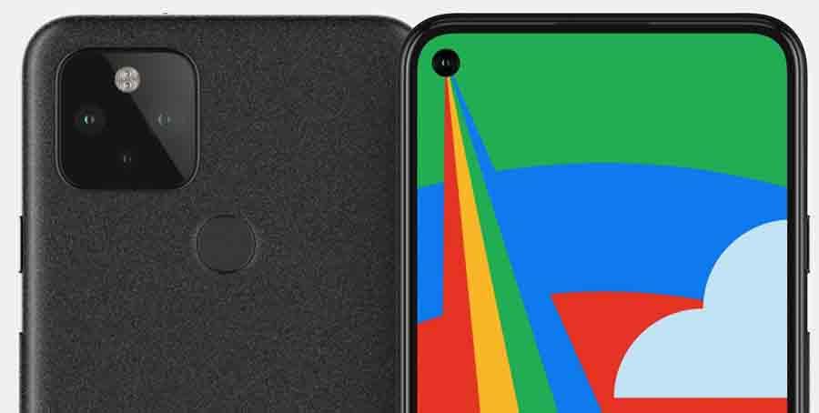Google Pixel 5 Camera Arrangement