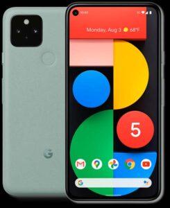 Google Pixel 5 design