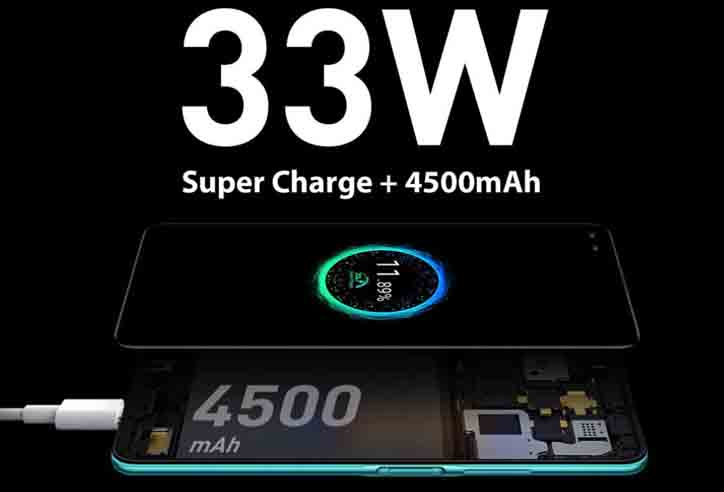 Infinix Zero 8 battery